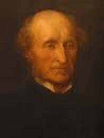 1869. John Stuart Mill