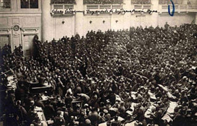 1917. Revolución rusa.