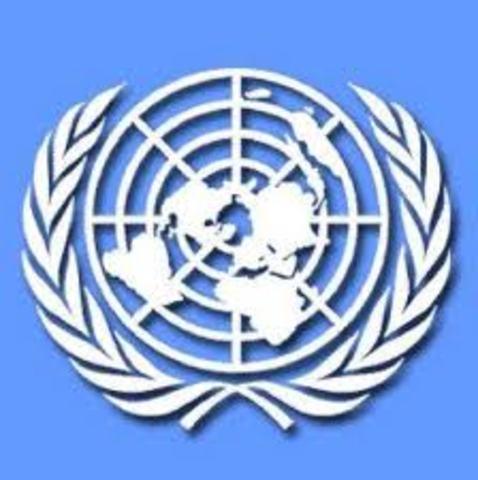 1945. Creación de la Organización de las Naciones Unidas (ONU)