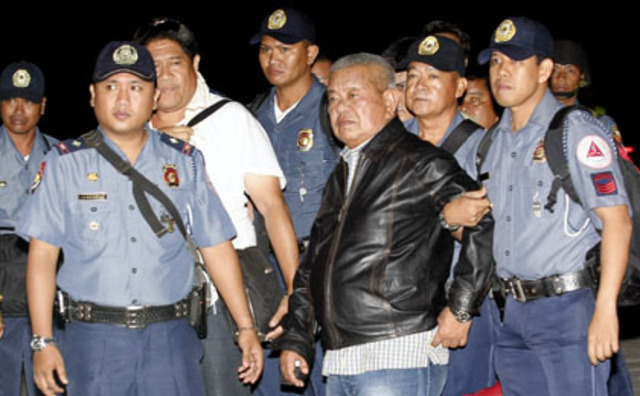 Only Andal Sr. and Andal Jr. were charged after 2 years