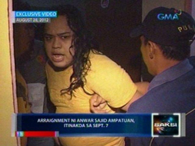 Anwar Ampatuan was arrested