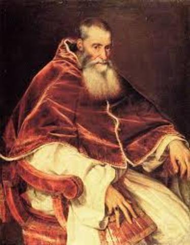 1537- el pontífice pablo III apoya a los indios