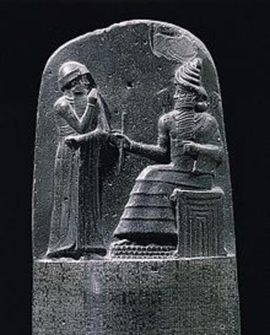 2100 aC- código hammurabi