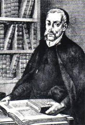 """1543- juan gines publico el libro """"el defensor de los encomenderos"""""""