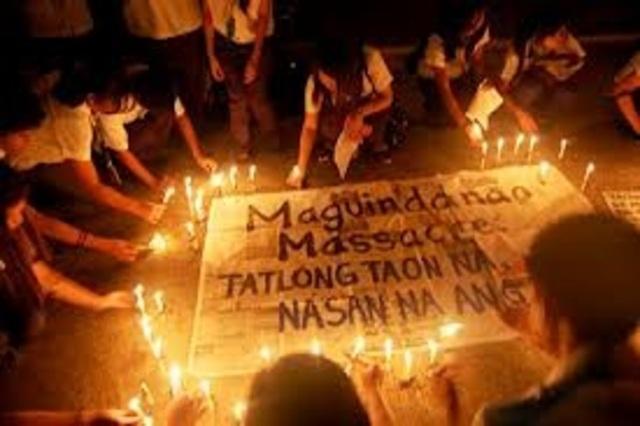 Third anniversary of Maguindanao massacre