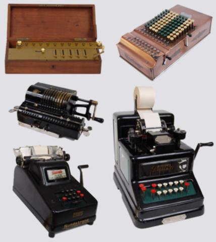 First Mechanical Device: Mechanical Calculator