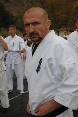 Милослав Корж, 43 года, Президент Федерации киокушинкайн каратэ Запорожской области