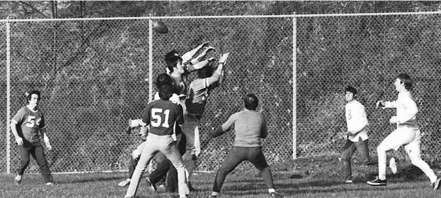Jeffrey Amazes the High School Football Players