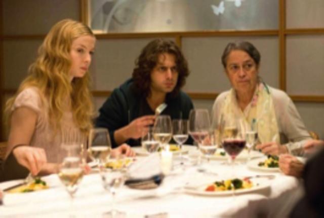 Essen mit Nadines Familie
