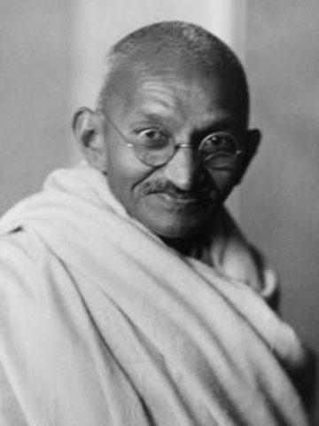 Mahatma Gandhi was born.