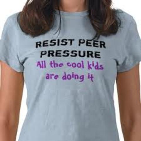 Adolescence: Psychosocial: Peer Pressure