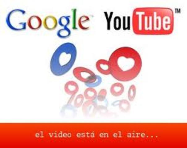Google Adquiere (Compra) YouTube