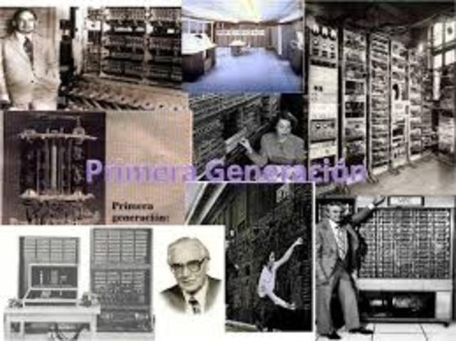 (1951-1958) La primera generacion de computadoras