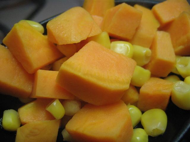 Corn and Sweet Potatoes