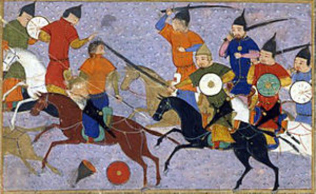 Mongolia invades China