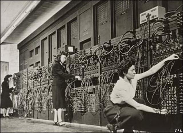 dificultades de programación del ENIAC