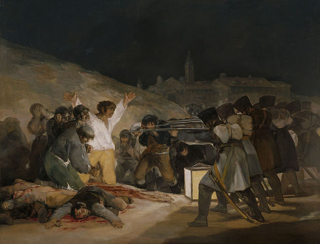 Napoleonic troops im Spain