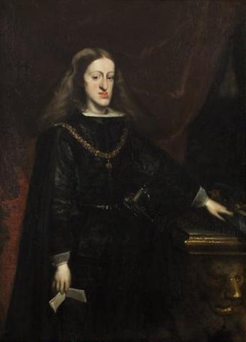 Charles II died.