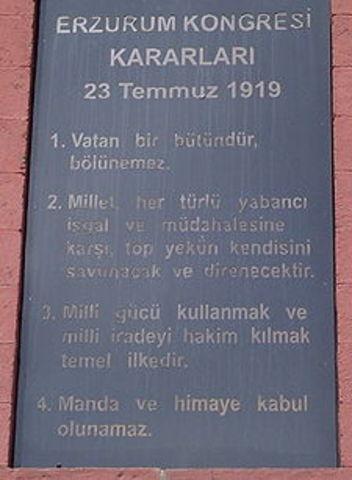 The Congress of Erzurum