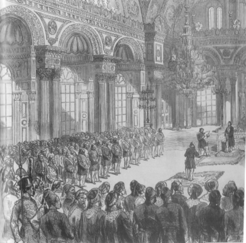 National Pact is created and adopted by the Ottoman Parliament