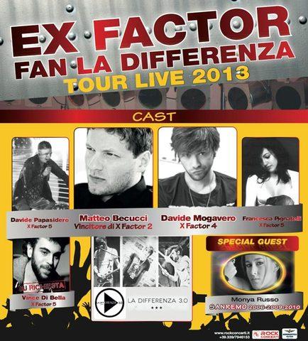 Ex Factor Tour @Rio Saliceto (RE)