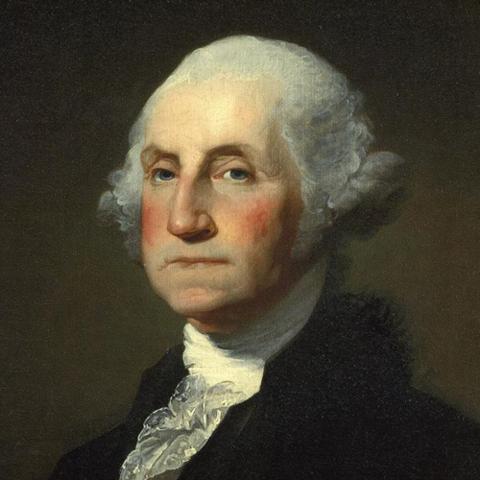 George Washington elegido 1º Presidente de los Estados Unidos.