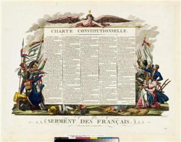 Primera Constitución de Francia.