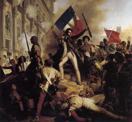 """Revolución de 1848 """"Primavera de los pueblos"""""""