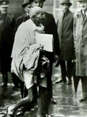 Gandhi's principal of non-violent protest