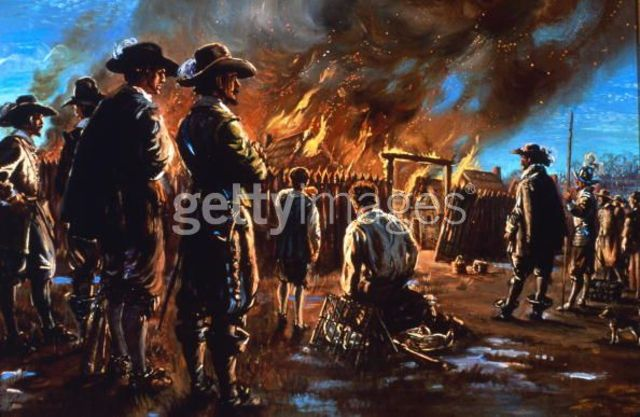 fire breakes out in jamestown