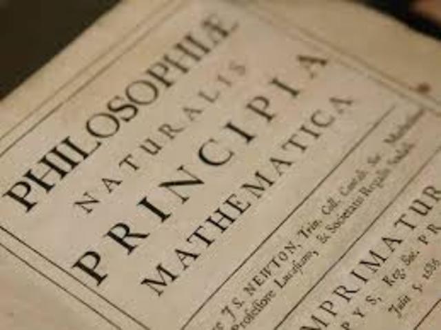 Newton Publishes the 'Principia'
