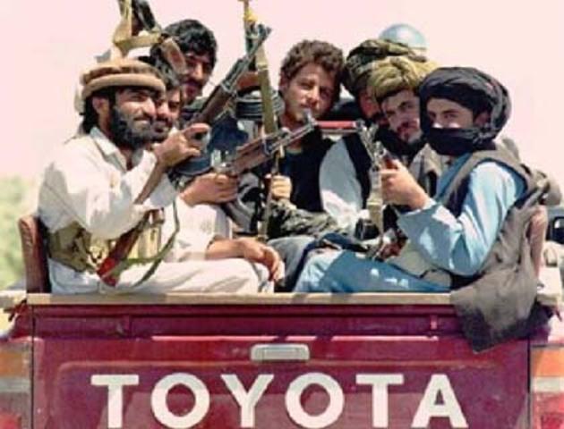 Muhjadeen internal fighting leads to rise of Taliban