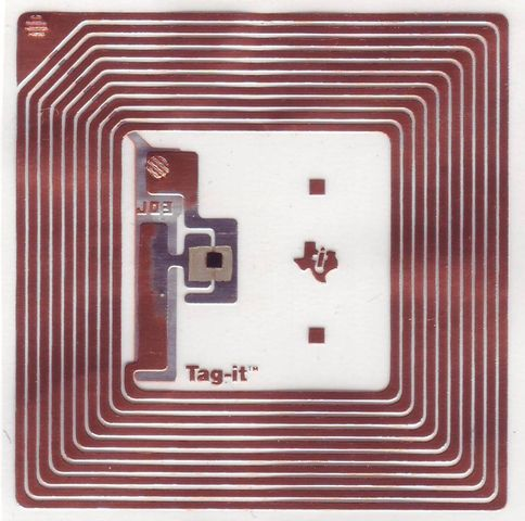 Etiquette RFID