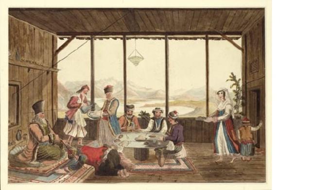 A Dinner at Delphi