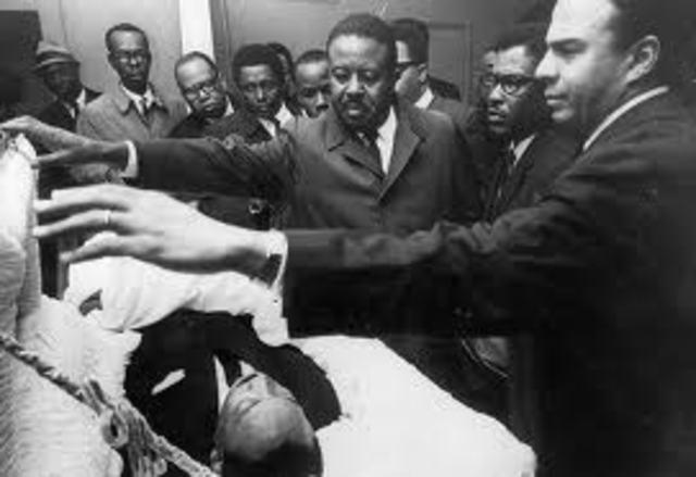 MLK Jr's dies