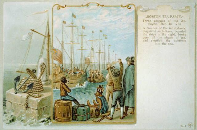 13 colonies bosten tea party