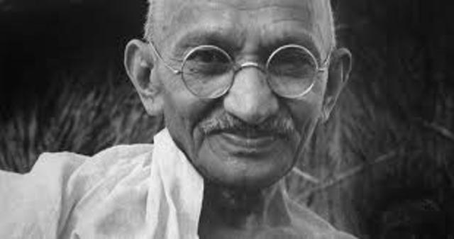 Gandhi...
