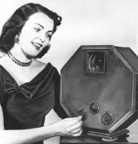 """1928 GE """"Octagon"""" Mechanical Television"""