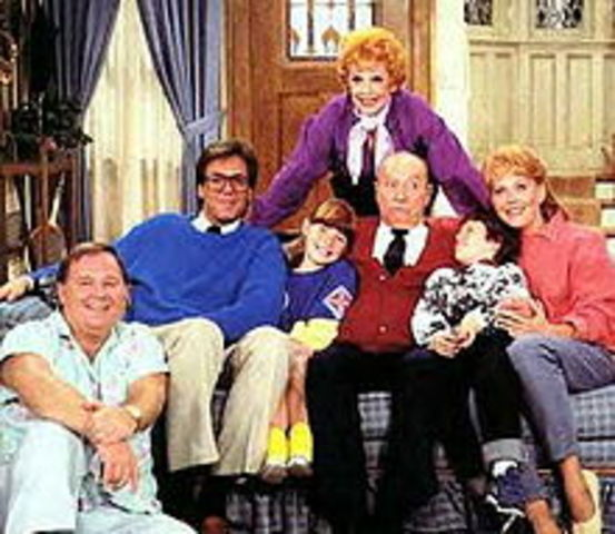 One of the most popular shows: Here's Lucy