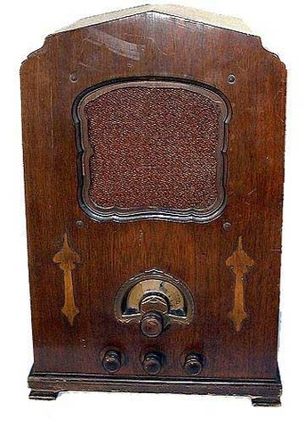 1932 Jenkins Radio and Television Receiver, Model JD-30, serial number 252