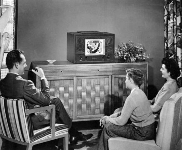 One Million houses have TV sets
