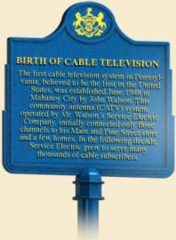 Cable Television To Pennsylvania