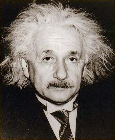 Albert Einstein dies