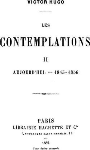 Publicação de Les Contemplations