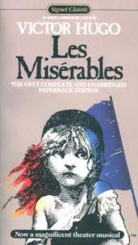Publicação de Les Miserables