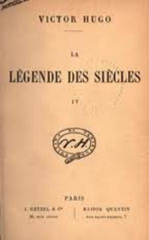 """Publicação de """"La legende des siecles"""""""