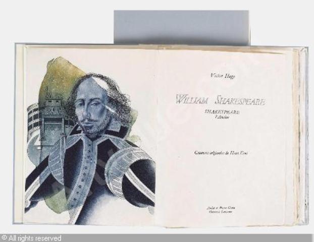"""Publicação de seu estudo sobre """"William Shakespeare"""""""