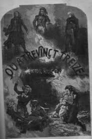"""Publicação de """"Quatre Ving Treize"""""""