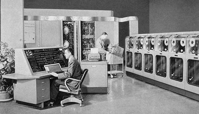 UNIVAC. (Ordenador universal automatico).