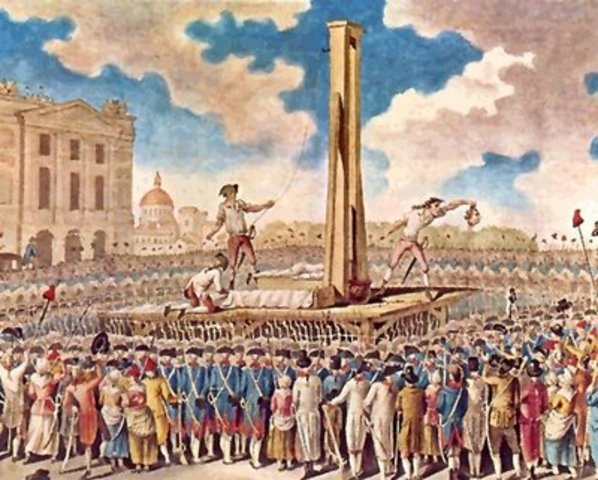 Decapitación de Luis XVI